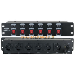 SHOWTEC DJ Switch 6 -...