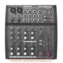 PHONIC AM240 MIXER 10 CANALI