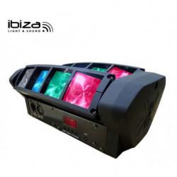 IBIZA LED8 MINI SPIDER -...