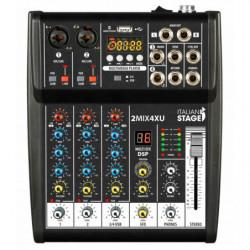 Italian Stage 2MIX4XU Mixer...