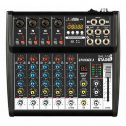 Italian Stage 2MIX6XU Mixer...