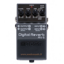BOSS RV 5 DIGITAL REVERB
