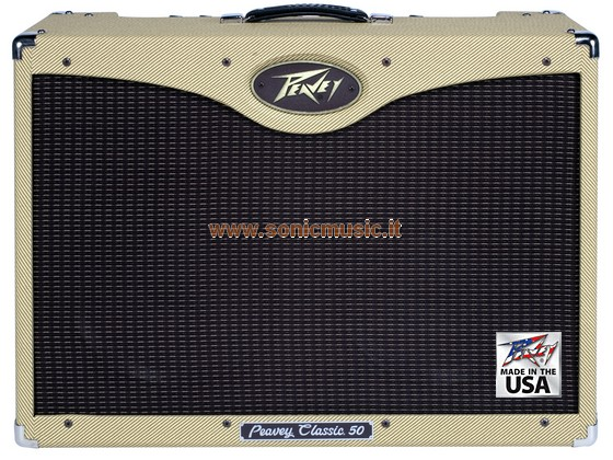 PEAVEY CLASSIC 50 212 TWEED - AMPLIFICATORE VALVOLARE MADE IN USA