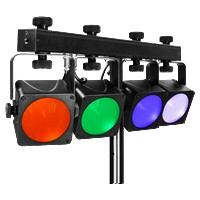 PROLIGHTS LUMI4COB - KIT LUCI A LED DMX