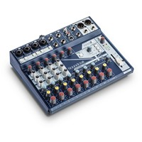 SOUNDCRAFT NOTEPAD 12FX - MIXER CON EFFETTI LEXICON E SCHEDA AUDIO USB 4X4