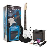 YAMAHA PACIFICA 012 BLACK & LINE 6 SPIDER V20 PACK