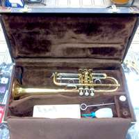VINCENT BACH STRADIVARIUS MODEL 239 C TRUMPET - TROMBA IN DO MADE IN USA