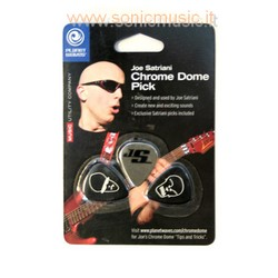 JOE SATRIANI Chrome Dome Pick