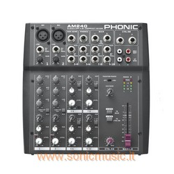 PHONIC AM240 MIXER 10 CANALI