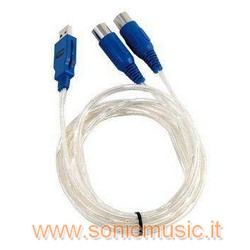 SOUNDSATION USMI-100 INTERFACCIA MIDI USB